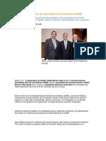 09-12-2013 Puebla Noticias - RMV asiste al informe de actividades de la Fundación UNAM