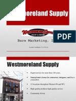 westmoreland supply presentation