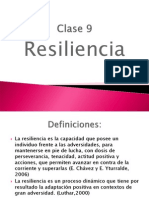Clase 9 Resiliencia