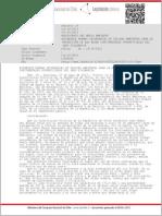Decreto 19 – 2013 Normas de Calidad Secundaria proteccion aguas Lago Villarrica