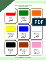 Arabic Colour Flashcards[1]