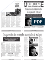 Versión impresa del periódico El mexiquense 10 diciembre 2013