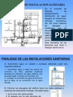 EXPOSICION 1 INSTALACIONES SANITARIAS - 2010