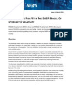 SABR Interest Rate Derivative