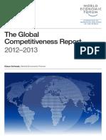 World Economiv Forum - Global Competitiveness Report 2012-13