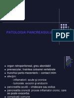 Patologie Pancreas