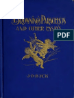 Buck, J.D. - Brownings Paracelsus and Other Essays