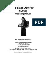 4002 Operating Manual