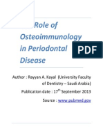 aThe Role of Osteoimmunology in Periodontal Disease