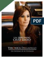 Primer Informe de Actividades - Verónica Delgadillo