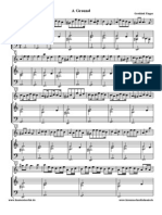 """G.Finger - """" A Ground"""" for flute and bass"""