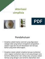 Karakterisasi Simplisia