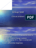 Group Test Cord Compression