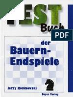 Schach Testbuch Bauernendspiel