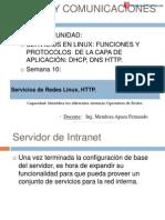 Sesion10 Servicios de Redes Linux
