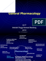 General Pharmacology - Absorption