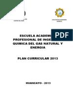 Plan Curricular-2013-EAP IQ-Gas Natural y Energia
