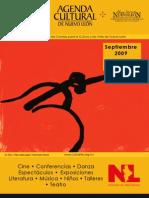 Agenda cultural | septiembre 2009