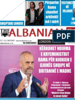 The Albanian newspaper in London 10h of Decembre 2013