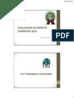 Evaluacion de Impacto Ambiental 2013 II