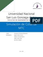 Simulacion de Colas - MTC