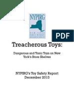 Treacherous Toys REPORT