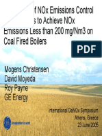 2_Application of NOx Emissions Control Technologies to Achieve NOx Emission Less Than 200 MgNm3 on Coal