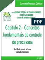 Aula 01 - Conceitos fundamentais de controle de processos químicos