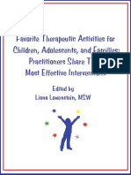 Therapeutic Activites for Families