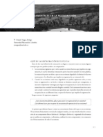 Vargas, 2013. Fundamentos Dla Restauracion Ecologica
