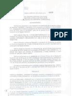 Resolución que aprueba disolución de S.A.