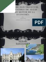 EL COCHE ELÉCTRICO Y EL COMBUSTIBLE DE ALGAS
