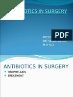 Antibiotics in Surgery 2003