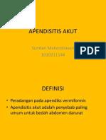 APENDISITIS AKUT
