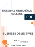 business objectives ppt