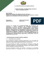 Declaración Constitucional Plurinacional Nº 0013/2013 al Estatuto Autonómico Indígena de Charagua