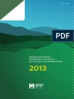 Anuario Estatistico Brasileiro Petroleo Gas Biocombustiveis ANP 2013