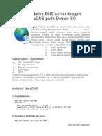 Authoritative DNS Server Dengan MaraDNS Pada Debian Lenny