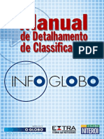 Manual de Detalhamento de Classificados