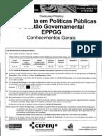 92103291 Ceperj 2010 Seplag Rj Especialista Em Politicas Publicas e Gestao Govern a Mental Parte i Prova