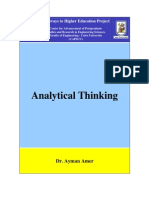 Analytical Thinking