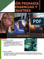 Emergencias y Desastres F