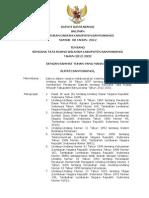 Peraturan Daerah Kabupaten Banyuwangi Nomor 8 Tahun 2012 Tentang Rencana Tata Ruang Wilayah Kabupaten Banyuwangi Tahun 2012 - 2032