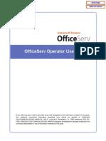 Officeserv Soho Operator Manual
