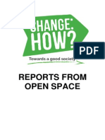 Reports From Open Space