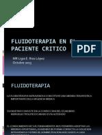 Fluidoterapia en El Paciente Critico