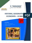 Módulo HISTORIA 1° BIM III