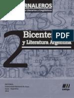 Jornaleros 02 - Bicentenario y Literatura Argentina