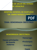 HEMORRAGIA OBSTETRICA
