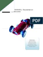 Toyota - Audit Logistique